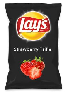 Wouldn't Strawberry Trifle be yummy as a chip? Lay's Do Us A Flavor is back, and the search is on for the yummiest flavor idea. Create a flavor, choose a chip and you could win $1 million! https://www.dousaflavor.com See Rules.