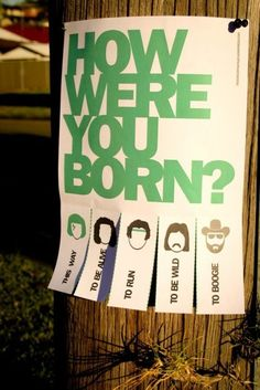 Born to be....