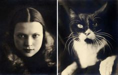 Photographs of Wanda Wulz are extremely rare, as in the late 1930s she turned to portrait painting.