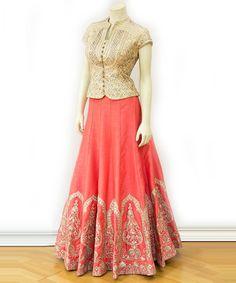 Half Saree Designs, Choli Designs, Lehenga Designs, Blouse Designs, Indian Gowns Dresses, Indian Fashion Dresses, Indian Outfits, Half Saree Lehenga, Anarkali