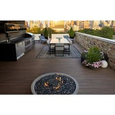 TimberTech AZEK Vintage 16-ft English Walnut Grooved PVC Deck Board at Lowes.com