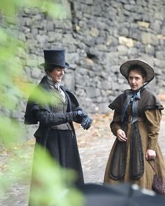 Great candid moment. Jodhi May, Dr Foster, Sophie Rundle, Suranne Jones, Gentleman Jack, Halloween Jack, Period Dramas, Historical Fiction, My People