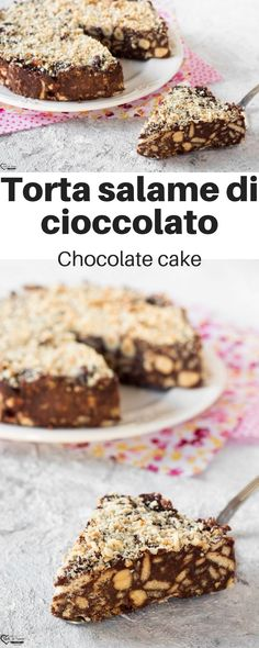 Discover recipes, home ideas, style inspiration and other ideas to try. I Love Chocolate, Chocolate Treats, Italian Recipes, Vegan Recipes, Italian Cake, Latest Recipe, Mediterranean Recipes, Dessert Recipes, Desserts