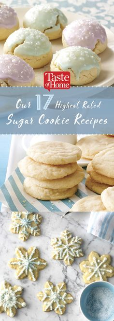 Our 17 Highest Rated Sugar Cookie Recipes