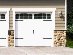 Garage Door Decorative Accessories, Coach House Accents (about $100 to redo/refinish garage doors, no replacing needed!)