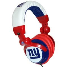 Giants Headphones, show off our NYG colors and share their Super Bowl win with the world! $25.00 and take advantage of Free shipping!!