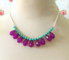 Love the turquoise & purple colours... I think I can make this!