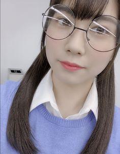丹生 明里 公式ブログ | 欅坂46公式サイト Round Glass, Glasses, Eyewear, Eyeglasses, Eye Glasses