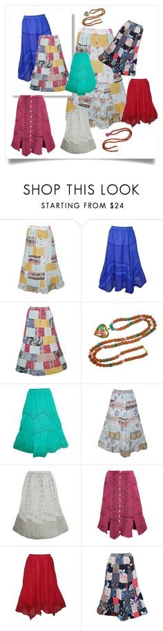 Beach Boho Style by baydeals on Polyvore featuring skirt, maxiskirt, hippie, gypsy and longSkirt   http://stores.ebay.com/mogulgallery/WOMENS-SKIRTS-/_i.html?_fsub=678282219&_sid=3781319&_trksid=p4634.c0.m322