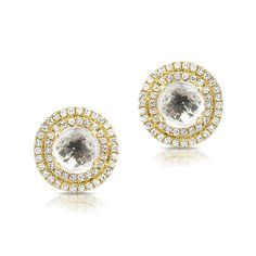 Shop the entire Anne Sisteron Jewelery Collection to your heart's content. Sort by color, stone and price to find your perfect match. Diamond Earrings, Stud Earrings, White Topaz, Studs, Yellow, Gold, Jewelry, Jewlery, Jewerly