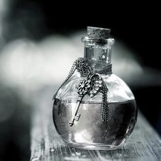 I just love this mysterious perfume bottle. Bottles And Jars, Perfume Bottles, Magic Bottles, Glass Bottles, Love Potion Number 9, Key To My Heart, Camille, Dream Come True, Wiccan