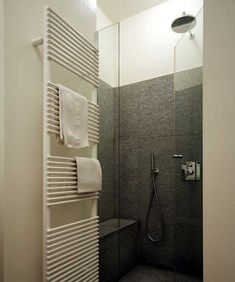 I'm not really a bath person, but a shower with a seat would be good. Simple, effective, and nice.