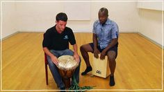 Five(ish) Minute Drum Lesson - African Drumming: Lesson The Fanga - video dailymotion Drum Lessons, Music Lessons, Trommler, Bucket Drumming, Hand Drum, Sculpture Projects, Percussion, Ukulele, Drums