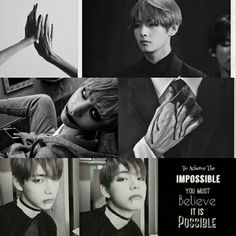 Grey BTS V aesthetic