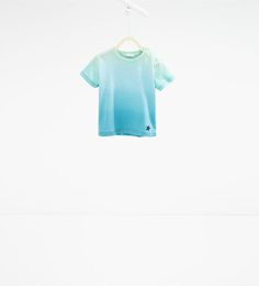 Image 1 of Ombré T-shirt from Zara