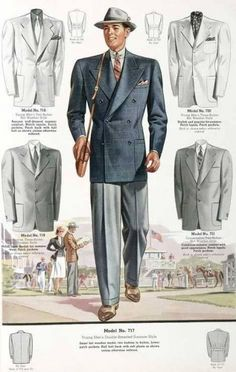 13b01946d5ea7 1930 Men Fashion | The Complete 1930s Men Fashion Guide photo picture New  Mens Fashion,