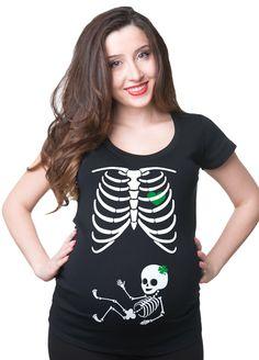 St.Patrick's Day Maternity Top Pregnancy T-Shirt Skeleton Irish Baby Girl Clover Shamrock Tee Shirt by maternitytees on Etsy https://www.etsy.com/listing/265867477/stpatricks-day-maternity-top-pregnancy-t