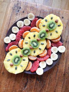 Healthy breakfast fruits