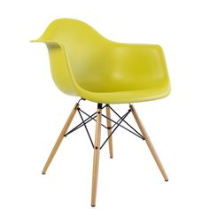 Eames fauteuil DAW pieds clairs-vitra|Voltex