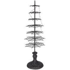Picture of 19.5  SPIDER METAL BLACK TREE
