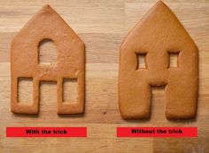 Homemade Gingerbread House, Gingerbread House Template, Cool Gingerbread Houses, Gingerbread House Designs, Gingerbread House Parties, Christmas Gingerbread House, Gingerbread Cookies, Christmas Houses, Gingerbread House Decorating Ideas