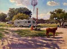 Carl Bretzke, Plein Air Tx