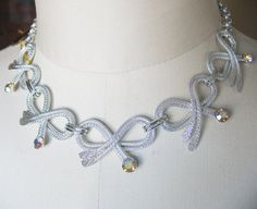 Vintage Aluminum Necklace ELOXAL Ever Nu with Aurora by tubbytabby, $59.00