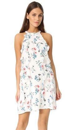 BB Dakota Прямое платье Elly с оборками