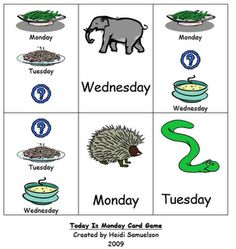 Swamp Frog First Graders: Today is Monday....well, almost!-Eric Carle