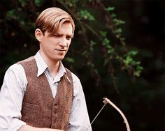 Domhnall Gleeson as A.A. Milne in Goodbye Christopher Robin (2017