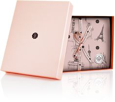 The beautiful Glossybox - box. Luxury beauty products in trial sizes that anyone can afford!