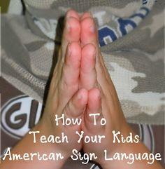 Teaching You Kids American Sign Language - Devotional Family Asl Sign Language, American Sign Language, Speech Language Pathology, Always Learning, Fun Learning, Teaching Kids, Preschool Schedule, Asl Signs, Deaf Culture