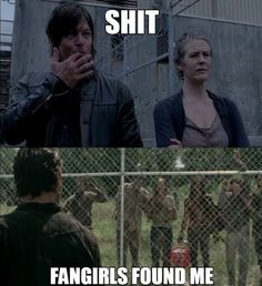 TV series The Walking Dead Norman Reedus lol humor funny pictures funny pics celebs