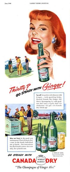 Canada Dry ad from 1948.