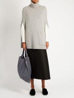 Roll-neck cashmere cape | Joseph | MATCHESFASHION.COM UK