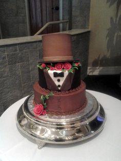 #groomscake #tuxedocake #weddingcake #atlantawedding #atlantabakery #gabrielsdesserts