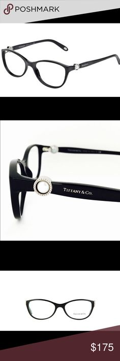 8bc8873ebd6c New Tiffany   Co eyeglasses w pearl accent New with tags on Tiffany and  Company