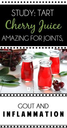 Study Tart Cherry Juice Amazing For Joints Gout And Inflammation Click the image for more info. Cherry Juice For Gout, Tart Cherry Juice Benefits, Gout Remedies, Herbal Remedies, Healthy Juices, Healthy Drinks, Weight Loss Smoothie Recipes, Cherry Tart, Alternative Health