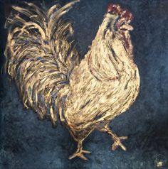 Golden Rooster | Art. Passion. ZsaZsa Bellagio