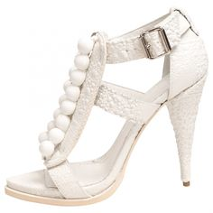 Givenchy White Sandals | Vestiaire Collective