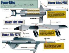 Ex Astris Scientia - Galleries - Starfleet Weapons