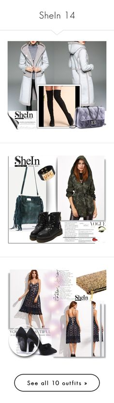"""""""SheIn 14"""" by melissa995 ❤ liked on Polyvore featuring Balmain, Smashbox and WithChic"""