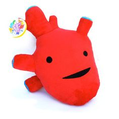 I heart Guts: Anatomically correct plushies - heart