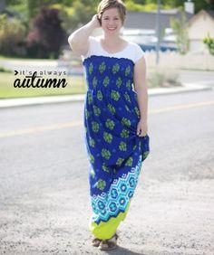 Free Spirit DIY Maxi Dress | AllFreeSewing.com