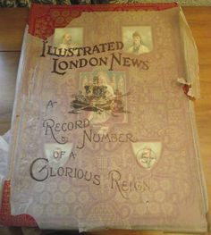 Illustrated London News Record of the Glorious Reign of Queen Victoria - Rare