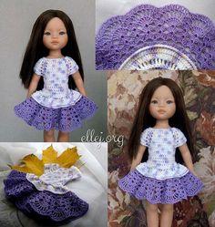 doll dress patterns Crochet dress girl pattern american dolls ideas for 2019 Crochet Scarf Diagram, Crochet Girls Dress Pattern, Crochet Doll Dress, Doll Dress Patterns, Crochet Doll Clothes, Barbie Patterns, Barbie Dress, Barbie Clothes, Crochet For Beginners
