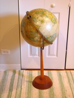 Globe with pivot...