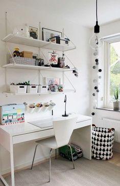 초등학생 아이방 가구배치 배워보는 시간 : 네이버 블로그 Girl Room, Girls Bedroom, Bedroom Decor, Workspace Inspiration, Room Inspiration, Home Office Decor, Home Decor, Suites, Home And Deco
