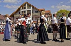 A Traditional Maibaumfest which is part of German History in Putzbrunn, Bavaria!