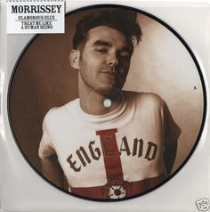 "MORRISSEY Glamourous Glue 2011 UK PICTURE DISC 7"" 45 VINYL MINT SMITHS MMPD722 